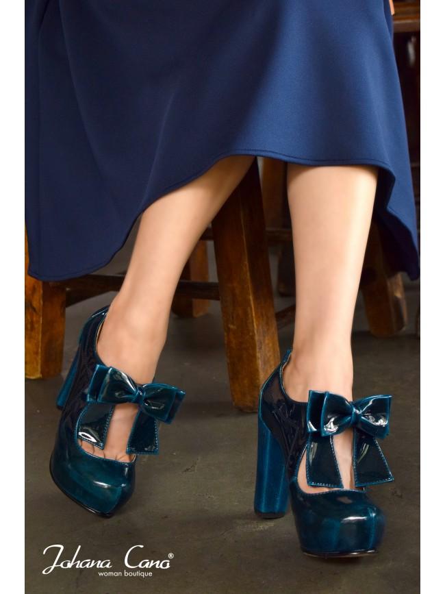 Jenny Charol Azul Petroleo TG