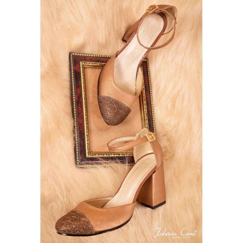71a04f3d Comprar zapato camel para mujer online, Johana Cano