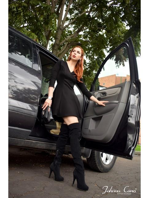 Vestido Gabana Negro Bose