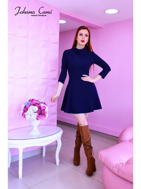 Vestido Sarif Azul