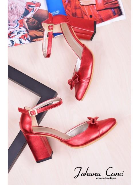 Zara Rojo Charol TG