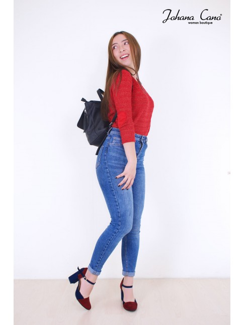 Sweater Keret Rojo Brillante