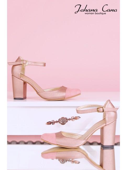 Zara Combinado Ocre Rosa