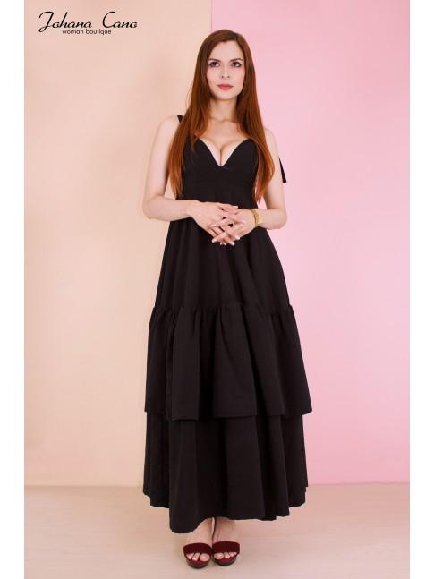 Maxi Vestido Sahara Negro