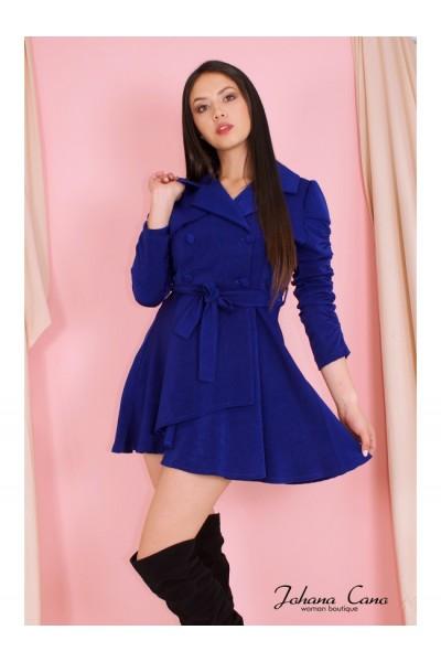 Abrigo Neusa Azul Rey
