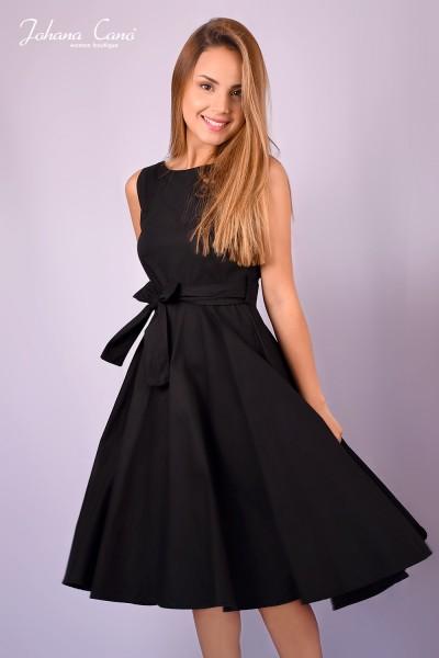 Vestido Foyle Negro Clasico