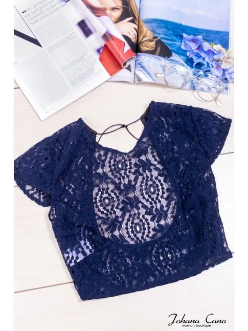Blusa Belice Azul
